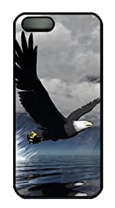 3D Eagle personalize For Iphone 5/5S Phone Case Cover PC Black for For Iphone 5/5S Phone Case Cover