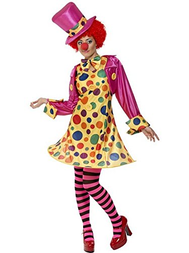 Womens Scary Clown Costumes - Smiffys Clown Lady