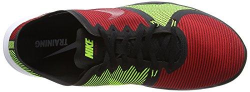Nike Free Trainer 3.0 V4 - Zapatillas para hombre Black/Team Red-Unvrsty Red-Vlt