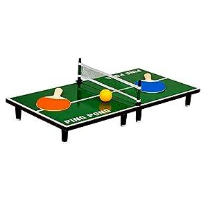 Mini Tischtennis Set | Tischtennisplatte, Ping Pong, Table Top Tennis,...