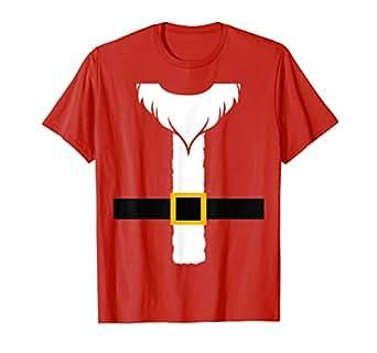 Amazon.com: Disfraz de Papá Noel para Navidad de clima ...