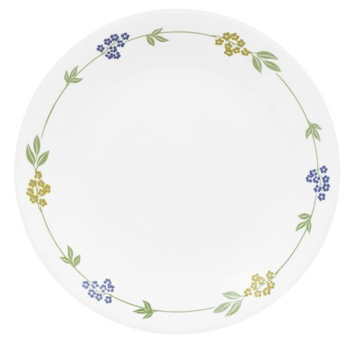 "Corelle Livingware Secret Garden 8-1/2"" Luncheon Plate (Set of 8)"