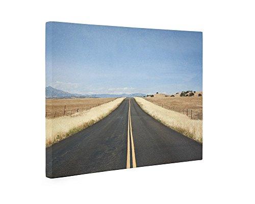 Large Canvas Print, 8x10 Matted Print, Open Road Highway Landscape Wall Art, 'American Road Trip' - Hotel Santa Barbara California Art