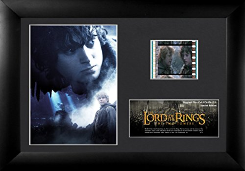 Trend Setters Lord of The Rings The Two Towers Frodo, Samwise and Gollum Framed Film Cell, Mini 2 Mini Film Cell