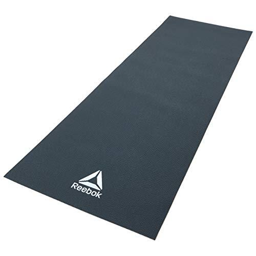 Reebok - Esterilla de Yoga, Verde Oscuro, 4 mm