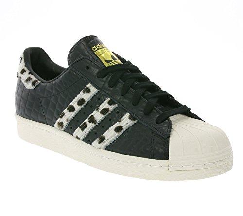 adidas Superstar 80s Animal, Core Black/Chalk White/Gold Metallic core black/chalk white/gold metallic