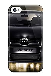 Excellent Iphone 4/4s Case Tpu Cover Back Skin Protector Toyota Auris 14