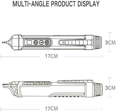 Giytoo Wechselstrom Gleichspannungstest Bleistiftstift Ber/ührungsloser Tester 48V 12V-1000V Spannungssound LED Alarmiert