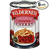 Wilderness Original Country Cherry Pie Filling And Topping 21 OZ (Pack of 24)
