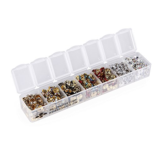 BRCbeads Assorted Rondelle Container Wholesale