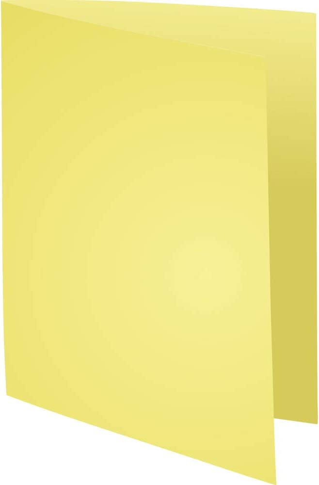 ideal f/ür Archivierung 1 Pack 180g elfenbein Exacompta 340025E Packung mit 100 Aktendeckel Super