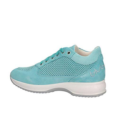 Blu 672002 Donna Byblos Celeste Sneakers 7vfaWxnFA