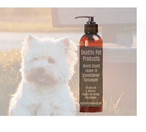 Warm Leave-In Conditioner and Detangler, Seattle Pet Product, All Natural