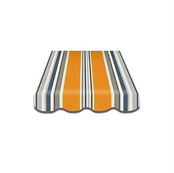herausragende Eigenschaften klassischer Chic amazon Vana deutschland GmbH Markisenstoff SPD040 Ersatzstoff Plus Volant fertig  genäht 3.5x3m