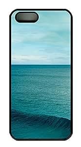 iPhone 5 5S Case Sea PC Custom iPhone 5 5S Case Cover Black