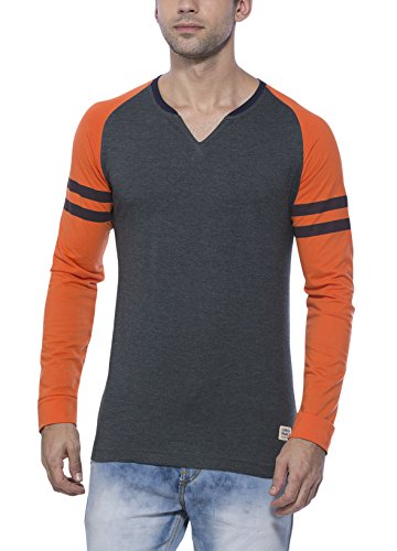 Alan Jones Solid Full Cotton Tshirt