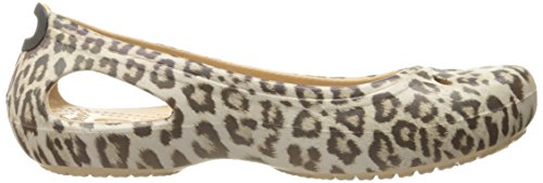 Ballet Women's W Crocs Graphic Kadee Flat Leopard UvTU1wq