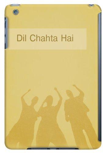 DailyObjects Dil Chahta Hai Case For iPad Mini/Retina Display Back Cover Yellow