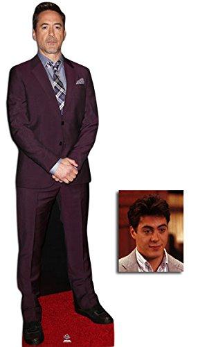Fan Pack - Robert Downey Jr Lifesize Cardboard Cutout / Standee / Standup - Includes 8x10 Star Photo
