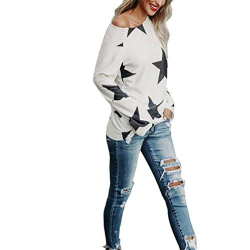 4XL Chemisiers Longues Gris Femme Shirts Blouses Tops Asymtrique Manches Sweatshirts SHOBDW Blanc S T Mode Chaud Rouge FSqwZWWd