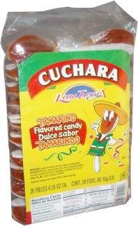 Spoon Hot Candy Tamarind Flavor Candy(cucharita Con Tamarindo)