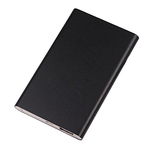 Banstore Portable 4000mAh Power Bank Case Box DIY Kit Circuit Board+Shell For Smartphone (Black)