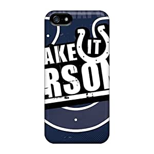 LittleBox Xlm8690ROfo Case Cover Iphone 5/5s Protective Case Indianapolis Colts