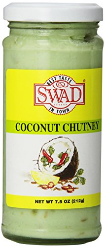 Swad Coconut Chutney, NET WT 7.5 OZ(212g)