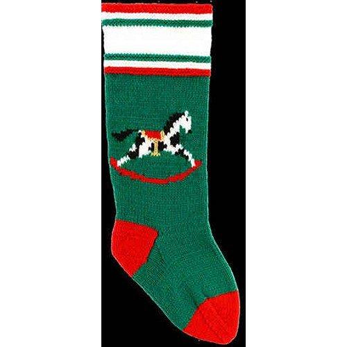 DooLallies Christmas Stockings Kits Rocking Horse (Green)
