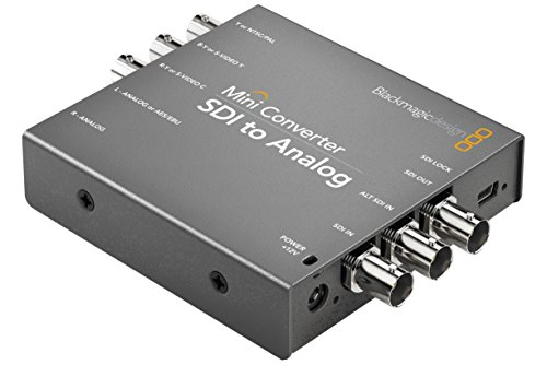 Blackmagic Design Mini Converter SDI to Analog with Embedded Audio (Component Sdi)