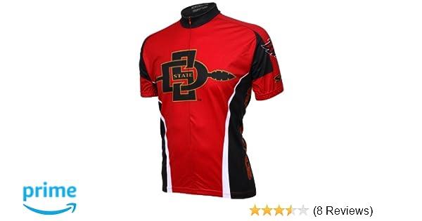 b6d120ea961 Amazon.com   NCAA SDSU Cycling Jersey