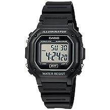 Casio Men's Classic Digital Resin Watch Black F108WH-1