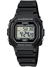 Men's F108WH Illuminator Collection Black Resin Strap Digital Watch
