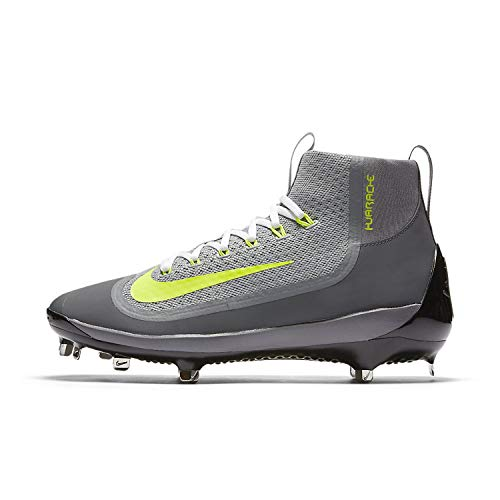 online store 786e0 1a88b NIKE Mens Air Huarache 2kfilth Elite Mid Baseball Cleat (9, Wolf GreyCool.  ‹ ›