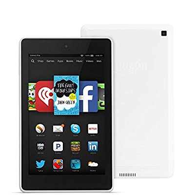 """Fire HD 6, 6"""" HD Display, Wi-Fi, 8 GB - Includes Special Offers, White"""