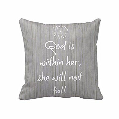 SMTSMT Throw Pillow Case Cushion Cover Home Decor-18'' * 18