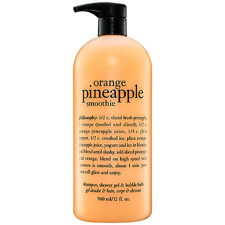 Philosophy Orange Pineapple Smoothie 32oz Shampoo Shower Gel