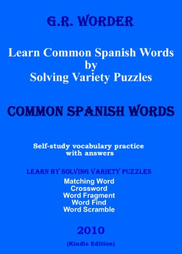 Learn Common Spanish Words by Solving Variety Puzzles
