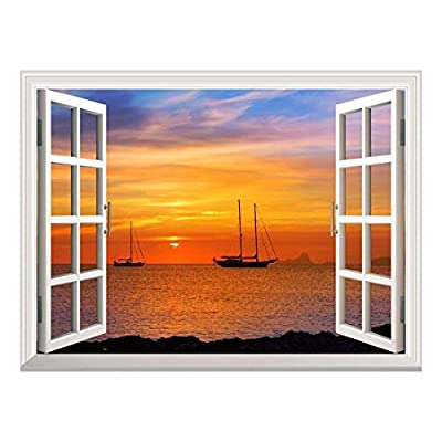 Pretty Artisanship, Wallpaper Large Wall Mural Series ( Majestic Seascape), That You Will Love