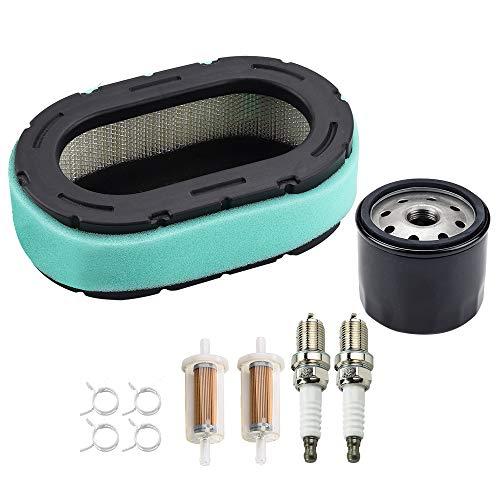Dxent Air Filter Oil Filter for Cub Cadet XT1 XT2 Craftsman G8300 G8400 T1800 T8000 T8200 T8400 Z6400 Z6600 Troy-Bilt 42