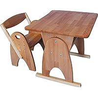 Children's Wooden Adjustable Desk Rainbow