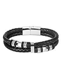 Men Bracelet 316L Stainless Steel Two Size Bracelets & Bangles Men Jewelry ,CA-PSH2693G