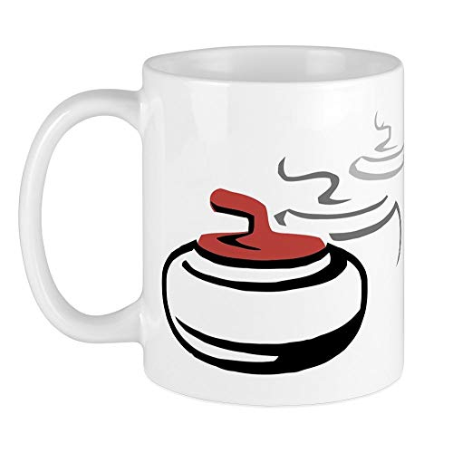 CafePress Curling Stone Mug Mugs Unique Coffee Mug, Coffee Cup