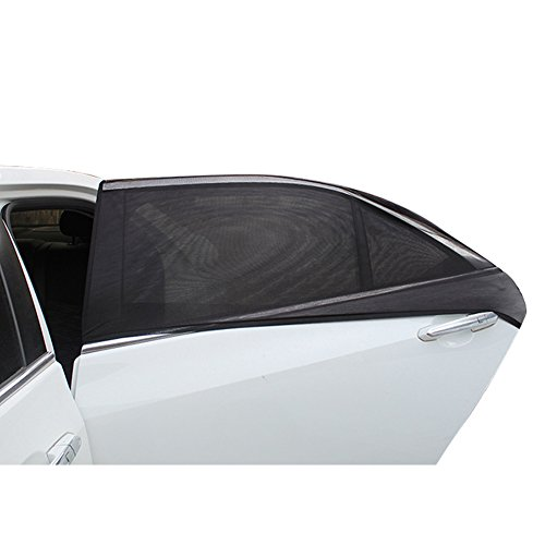 Price comparison product image Car Shades, Car Side UV Protection Sun Shades Window Covers Side Rear Window for Car/SUV/Off-Road Vehicle Blocker and Privacy Shield Visor Protects Your Baby Kids and Pets from The Sun(S)