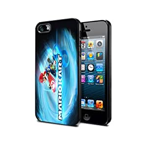 Case Cover Silicone Iphone 5 5s Mario Kart 8 Mk803 Game Protection Design