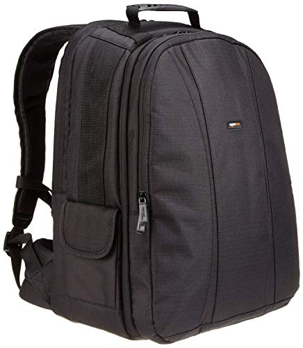 AmazonBasics DSLR Camera and Laptop Backpack Bag - 13 x 9 x 18 Inches