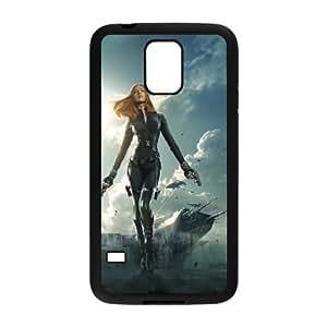 Scarlett Johansson SANDY0077078 Phone Back Case Customized Art Print Design Hard Shell Protection SamSung Galaxy S5 G9006V