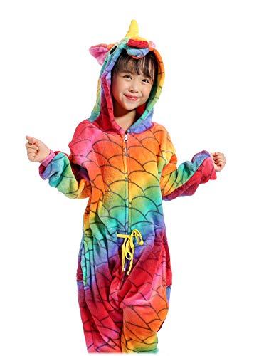 Unisex Child Sleepsuit Costume Cosplay Homewear Lounge Wear Kigurumi Onesie Pajamas (3Yrs(fits for height35.4-39.4