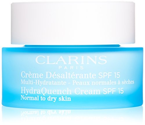 Clarins Hydraquench Day Cream SPF 15 for Unisex, Normal t...