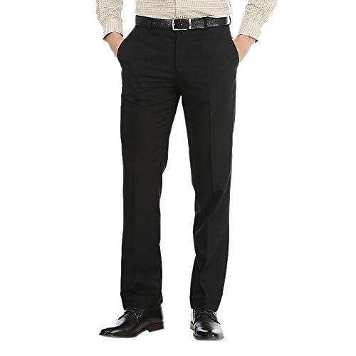 41y8WJpHigL. SS500  - AD & AV Mens Formal Trouser SAIBLACK$P